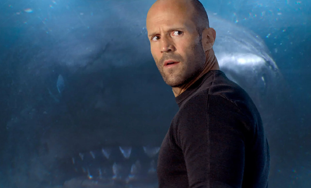 The top 10 best blogs on shark movie jason statham squares off against a 75 foot shark in first trailer for the meg watch thecheapjerseys Images